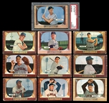 1955 Bowman Complete Set with Salesman Samples