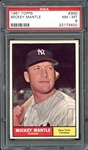 1961 Topps #300 Mickey Mantle PSA 8 NM/MT