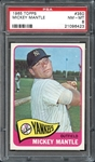 1965 Topps #350 Mickey Mantle PSA 8 NM/MT
