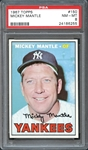 1967 Topps #150 Mickey Mantle PSA 8 NM/MT