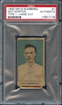 1920 W519-1 Numbered #1 Guy Morton PSA Authentic