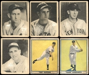 1939-41 Play Ball Group of (27) Cards with Hall of Famers