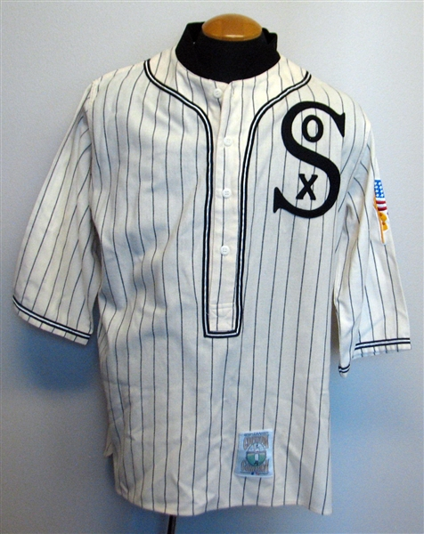 online store 50b3b 712b2 Lot Detail - Mitchell & Ness Chicago White Sox 1910s Style ...