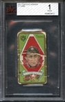 1911 T205 Gold Borders Ty Cobb BVG 1 POOR