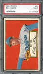 1952 Topps #20 Billy Loes PSA 7 NM