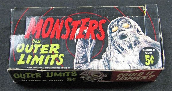 1964 Topps Outer Limits Full Unopened Wax Box BBCE