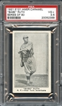 1921 E121 American Caramel Babe Ruth Series of 80 PSA 3.5 VG+