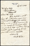 1923 Babe Ruth Signed Full Letter With Wonderful Baseball Content Written In His Own Hand PSA/DNA 9 MINT, The Finest Ruth Handwritten Letter in The Hobby