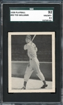 1939 Play Ball #92 Ted Williams SGC 92 NM/MT+ 8.5