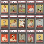 1933 Goudey Complete Set with PSA Graded