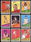1972 Topps Basketball Complete Set