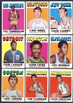 1971 Topps Basketball Complete Set