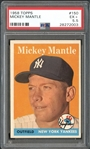 1958 Topps #150 Mickey Mantle PSA 5.5 EX+