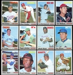 1970 Topps Exceptionally High Grade Complete Set