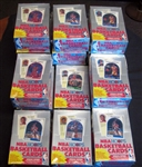 1989-90 Hoops Basketball Series 2 Lot of (17) Full Unopened Wax Boxes