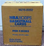 1989-90 Hoops Basketball Series 2 Factory Sealed Full Unopened Case