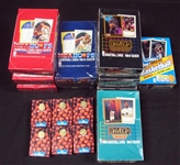 1990s Topps, Hoops, Star Pics and Skybox Basketball Unopened Wax Box and Complete Set Group of (16)