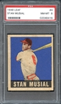 1948 Leaf #4 Stan Musial PSA 8 NM/MT