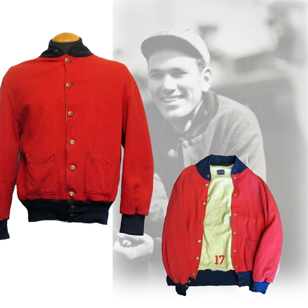 1932 Dizzy Dean Rookie Year St. Louis Cardinals Game-Used Warm Up Jacket Gifted to Jim Bottomley