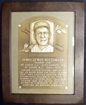 Jim Bottomleys Personal Hall of Fame Induction Plaque