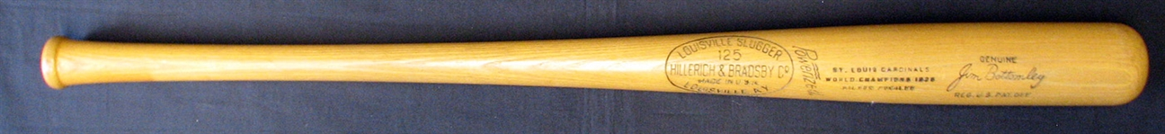 Jim Bottomley Commemorative Model Bat St. Louis Cardinals World Champions 1926 Silver Jubilee