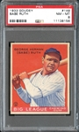 1933 Goudey #149 Babe Ruth PSA 8 NM/MT