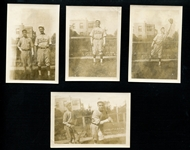 Jim Bottomley In Semipro Uniform Group of (4) Original Type I Photographs