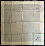 Jim Bottomleys Personal Embroidered Handkerchief