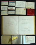 Betty Bottomleys Personal Items Including Signed Documents