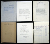 Collection of Letters and Documents from the Bottomley Estate