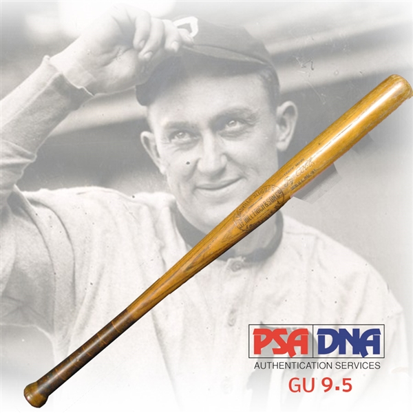 1910-1915 Ty Cobb Professional Model Game-Used J.F. Hillerich & Son Louisville Slugger Bat PSA/DNA GU 9.5