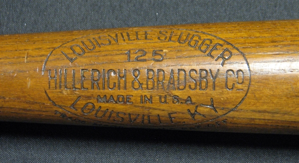 1929-30 George Babe Ruth Professional Model H&B Louisville Slugger Game-Used Bat PSA/DNA GU 9 with Provenance Indicating It Was Used for 3 Home Runs