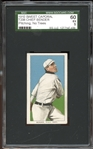 1909-11 T206 Sweet Caporal 350/30 Chief Bender No Trees SGC 60 EX 5