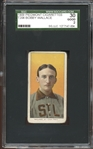 1909-11 T206 Piedmont 150/25 Bobby Wallace SGC 30 GOOD 2