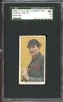 1909-11 T206 Old Mill Vic Willis with Bat SGC 40 VG 3