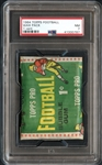 1964 Topps Football Wax Pack 1 Cent PSA 7  NM