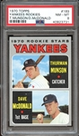 1970 Topps #189 Thurman Munson PSA 8 NM/MT