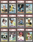 1979 Topps Baseball Complete Set with Many PSA Graded