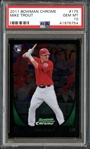 2011 Bowman Chrome #175 Mike Trout PSA 10 GEM MINT