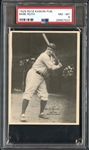 1929 R316 Kashin Publishing Babe Ruth PSA 8 NM/MT
