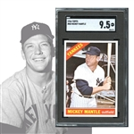 1966 Topps #50 Mickey Mantle SGC 9.5 MINT+