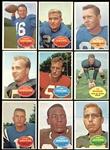 1960 Topps Football Near Complete Set (116/132) with Unitas and Brown