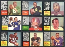 1962 Topps Football Near Complete Set (156/176)