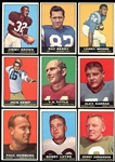 1961 Topps Football Near Complete Set (173/196)
