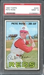 1967 Topps #430 PETE ROSE PSA 9 MINT