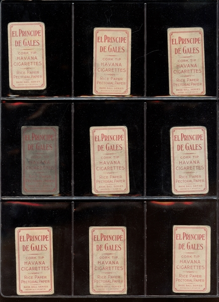 1909-11 T206 Group of (69) Cards All Polar Bear and EPDG With HOFers