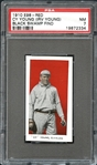 1910 E98 Red Cy Young Black Swamp Find PSA 7 NM
