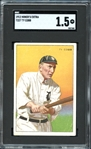 1912 Miners Extra T227 Ty Cobb SGC 20 FAIR 1.5