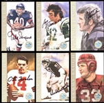 1998 Ron Mix NFL Hall of Fame Signature Series Platinum Edition Complete Set