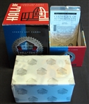 1998 Ron Mix NFL Hall of Fame Signature Series Platinum Edition Unopened Complete Set